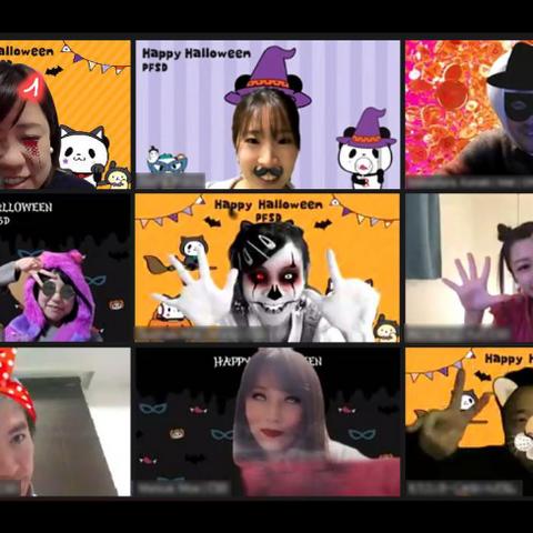 オンラインでハロウィンパーティー!